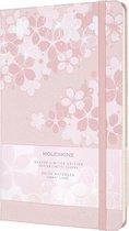 Moleskine Limited Edition Notitieboek Sakura Large (13x21 cm) Gelinieerd Donkerroze
