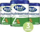 Hero Baby Nutrasense comfort+ 2 (6+m) - 3 STUKS