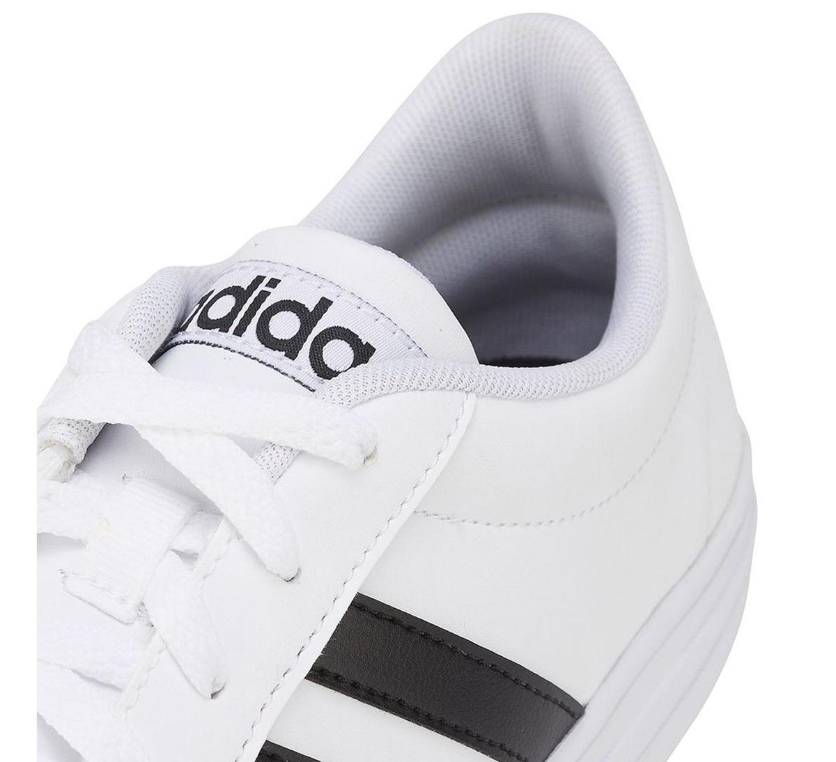 adidas VS Set Sneakers - Maat 42 2/3 - Mannen - wit/ zwart Gbe30
