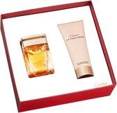 Cartier La Panthere Gift Set 50ml EDP + 100ml Shower Gel