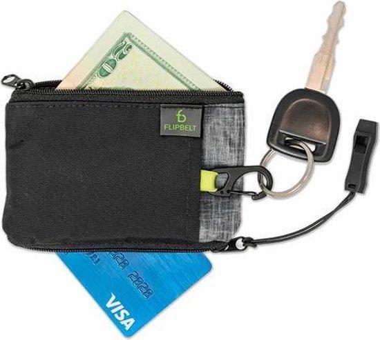 FlipBelt Ultra Wallet Zwart - Hardloop accessoire -  Portemonnee tijdens hardlopen