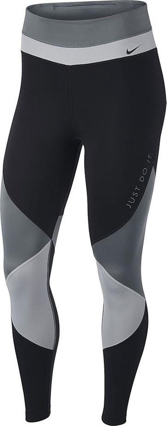 Nike One 7/8 tight dames zwart/grijs