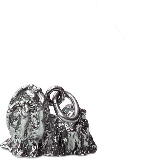 Shih Tzu ketting Hanger COOLDOG™ in massief .925 Sterling Zilver