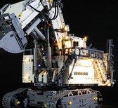 Liebherr R9800 LED Lichtset voor de Lego Technic® graafmachine set 42100 verlichting set  - bouw - Toy Brick Lighting - Light