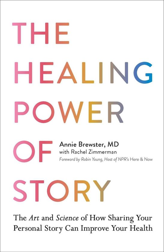 Boek cover The Healing Power of Story van Annie Brewster (Onbekend)