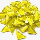 Mozaiek Steentjes Soft Triangles Geel