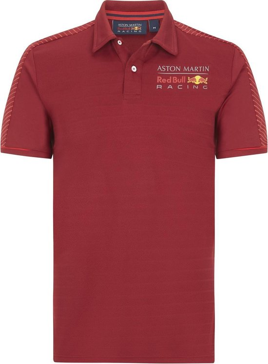 Max Verstappen Red Bull Racing Polo Rood 2020 S
