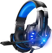 KOTION EACH G9000 - Gaming Headset - PC - Zwart/Blauw
