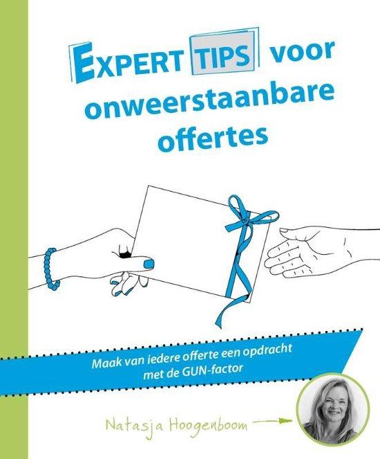 Experttips boekenserie - Experttips voor onweerstaanbare offertes - Natasja Hoogenboom |