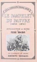 La chanson française, du socialisme utopique (1834) à la Révolution de 1848 (2). Le pamphlet du pauvre