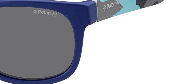 Polaroid Kids Zonnebril P0300 Blauw - gepolariseerd - Polaroid