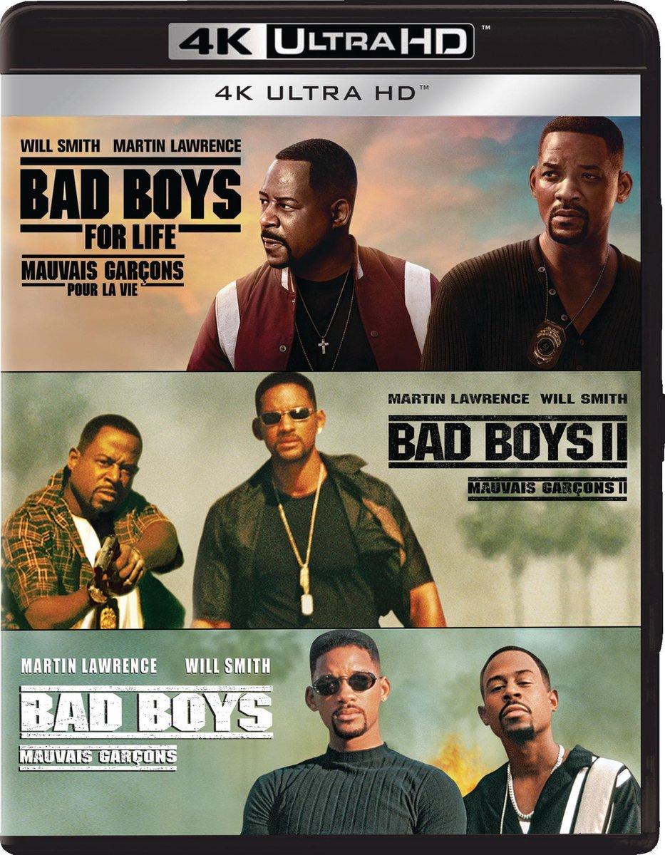 Bad Boys Trilogy (4K Ultra HD Blu-ray)-