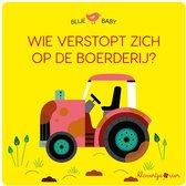 Blije Baby  -   Blije baby: Wie verstopt zich op de boerderij? (puzzelboek