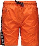 SuperRebel Jongens zwembroek - Neon Orange - Maat 152