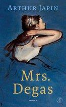 Boek cover Mrs. Degas van Arthur Japin (Hardcover)