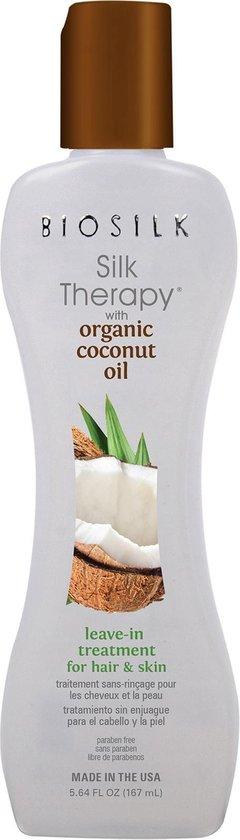 BioSilk Silk Therapy Coconut Oil Leave in Treatment  -167ml