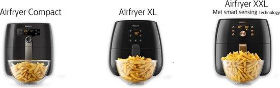 Philips Avance Airfryer XL HD9247/90 - Hetelucht friteuse - Met XL bakplaat
