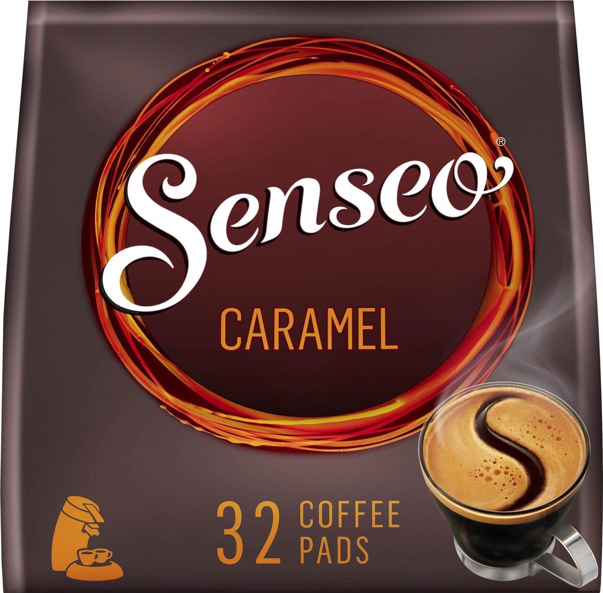 Senseo Caramel Koffiepads - 10 x 32 pads - voor in je Senseo® machine