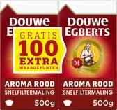 Douwe Egberts Aroma Rood Filterkoffie - 6 x 1000 gram