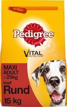 Pedigree Vital Protection Maxi Adult Brokken - Rund & Rijst - Hondenvoer - 15kg