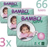 3X Bambo Nature Baby Luiers 6 XL 16-30kg 66ST - TRIPLE DEAL!