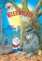 Boek cover Dolfje Weerwolfje 4 - Weerwolvenbos van Paul van Loon (Hardcover)