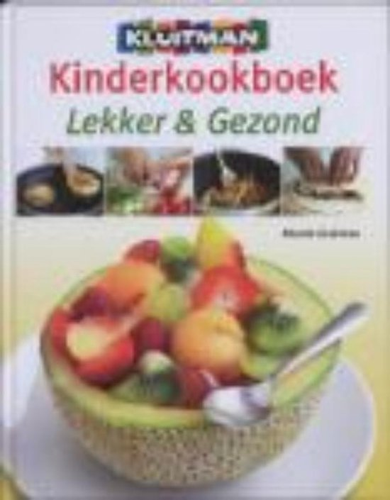 Boek cover Kinderkookboek lekker en gezond/zelf kweken van Deborah Lock (Hardcover)