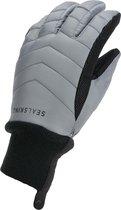 Sealskinz Waterproof All Weather Lightweight Insulated Glove Fietshandschoenen - Maat M - Grijs/Zwart