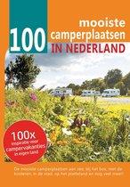 Boek cover 100 mooiste camperplaatsen in Nederland van Nicolette Knobbe (Paperback)
