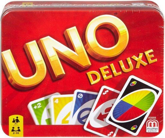 Uno Deluxe - Kaartspel