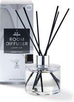 Alefia | Geurstokjes | Huisparfum van 150 ml in de geur Woody & Citrus - Luxury Home Perfumes