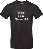 "Bc Meiland ""Wat een gezeik"" Meiland ""wat een gezeik"" Unisex T-shirt Maat M"