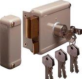 Yale Oplegslot 635-50 met 6 sleutels- Doornmaat 50 mm - DIN RECHTS