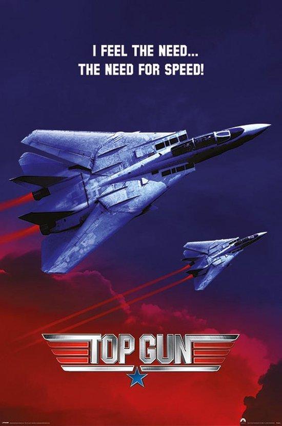 Top Gun 2: Maverick Tom Cruise straaljagers film poster 61x91.5cm.