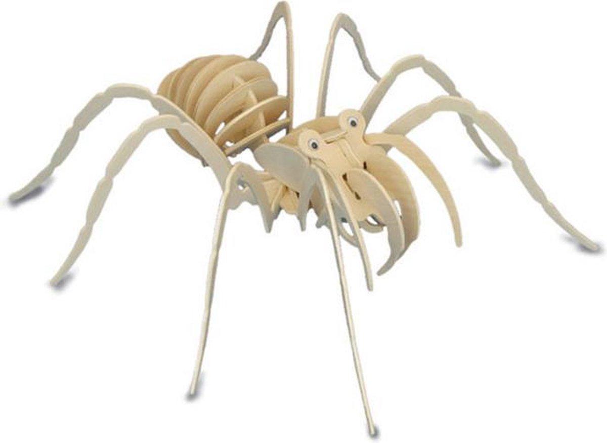 Bouwpakket 3D Puzzel Tarantula - hout