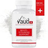 Vaud | Multivitamine Support | 100 tabletten | Vitamine A, B, C, D, E en K | Alle vitamines in één tablet | Multivitaminen | Bevat vitamine C | Vitamines | Mondkapje