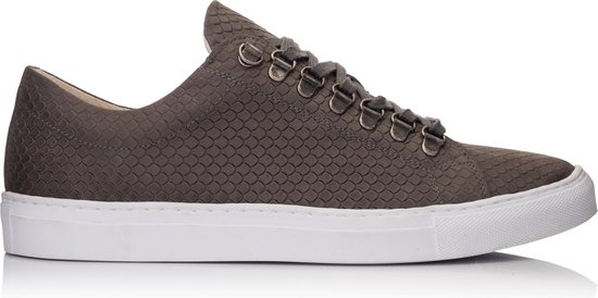 OMNIO VELO SNEAKER ECO Dragon Charcoal Embossed Leather - 46