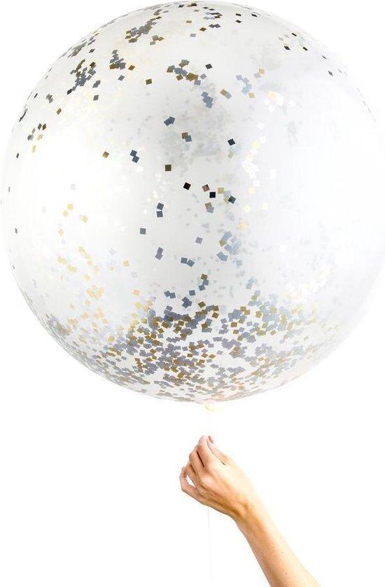 Knot & Bow   Jumbo Ballon   Metallic   1 stuk   90cm