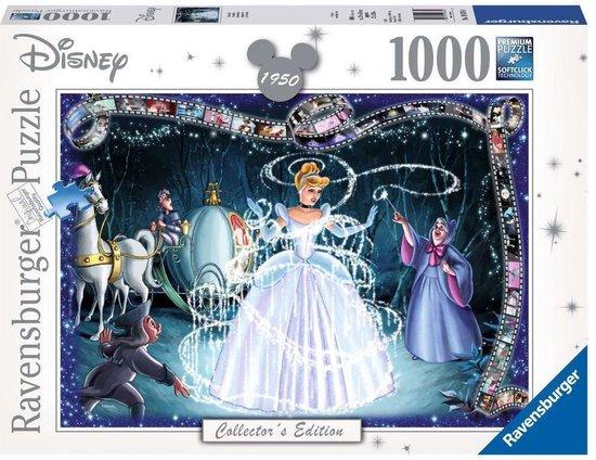 Ravensburger - puzzel Disney Princess Cinderella - Legpuzzel - 1000 stukjes - Ravensburger