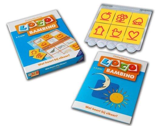 Bambino Loco Pakket Wat hoort bij elkaar - Schrijver  