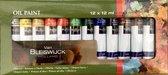 Professionele Olieverf - Olieverfset - Oil Paint Set - Olie Verf - Verfset - Verven - Hobby - Hoge Kwaliteit Verf - 12 KLEUREN