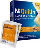 NiQuitin Clear Pleisters 14 mg - Stoppen met roken - 7 stuks