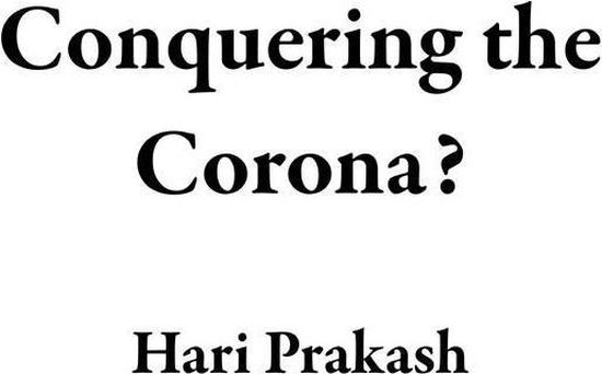 Omslag van Conquering the Corona?