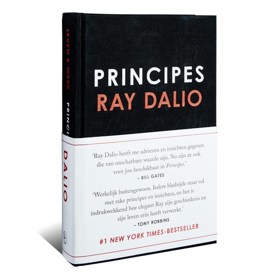 Boek cover Principes van Ray Dalio (Hardcover)