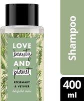 Love Beauty and Planet Shampoo Rosemary & Vetiver - 400 ml