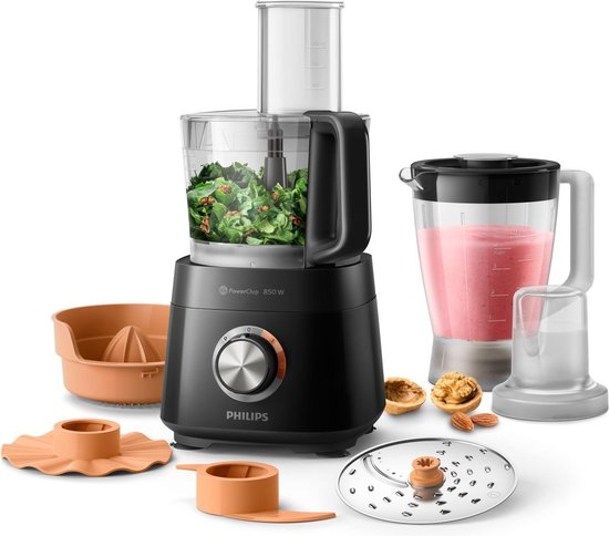 6.Philips Viva HR7520/10 Foodprocessor