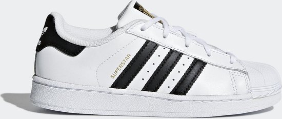 adidas SUPERSTAR C Kids Sneakers - Ftwr White/Core Black/Ftwr White - Maat 28