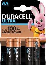 Duracell Ultra Power Alkaline AA/LR6 4-pak