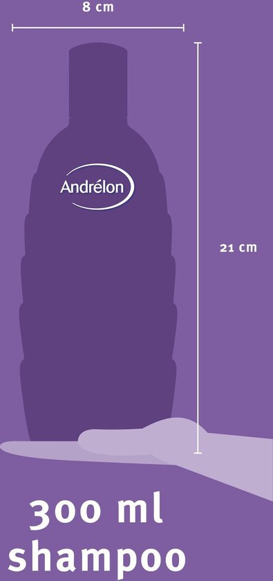Andrélon Zomerblond  Shampoo 6 x 300 ml - Voordeelverpakking - Andrélon