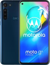 Motorola Moto G8 Power - 64GB - Blauw